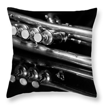 Trumpet Throw Pillows