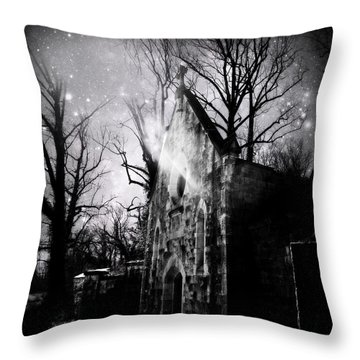 Vampiric Tendencies Throw Pillow