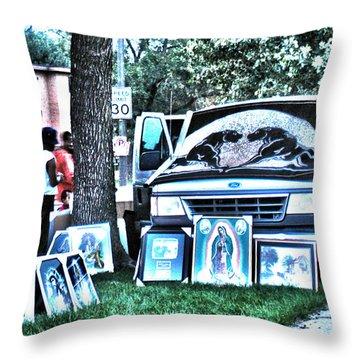 Van Art Throw Pillow