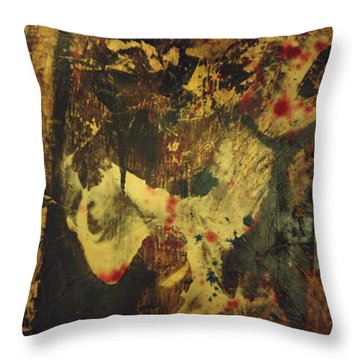 Van Gogh's Ear Throw Pillow