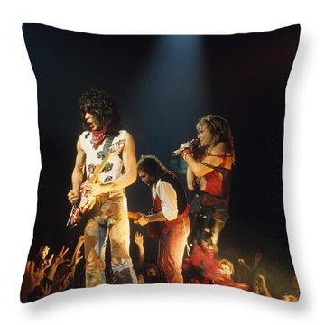 Van Halen 1984 Throw Pillow