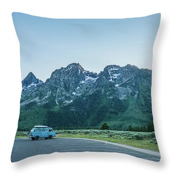 Van Life Throw Pillow