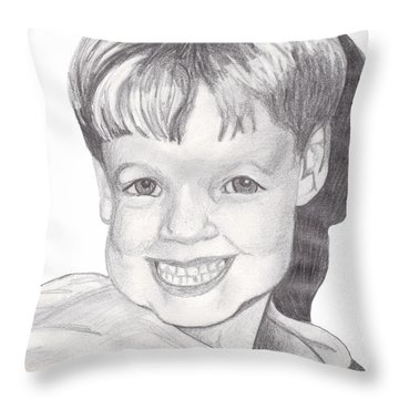 Van Winkle Boy Throw Pillow