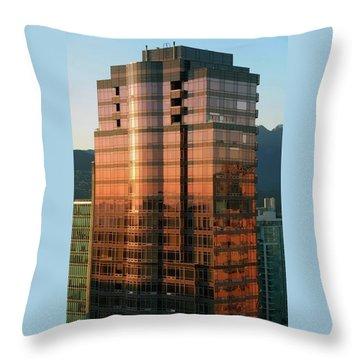Vancouver 10 Throw Pillow