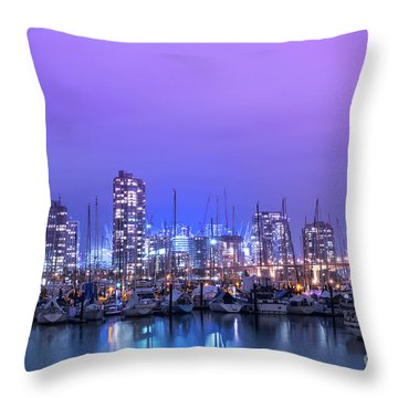 Throw Pillow featuring the photograph Vancouver by Juli Scalzi