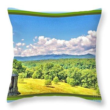 Vanderbilt View Throw Pillow