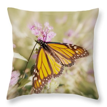 Vanishing Species 3 Throw Pillow