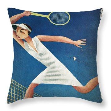 Vanity Fair, 1932 Throw Pillow by Granger