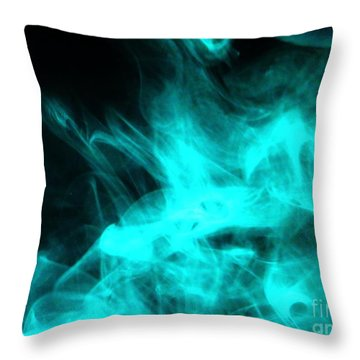 Vape Throw Pillow