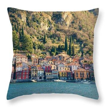 Varenna Village Throw Pillow