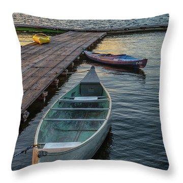 Variation On A Theme At Lava Lake Throw Pillow