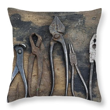 Various Forceps Throw Pillow