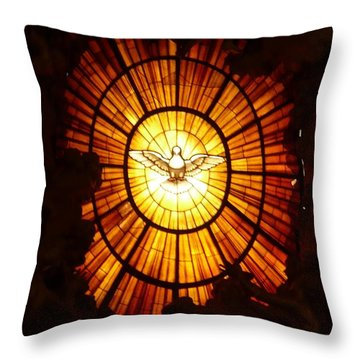 Vatican Window Throw Pillow by Carol Groenen