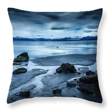 Vatnajokull From Stokksnes Throw Pillow