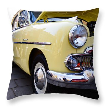 Vauxhall Velox Throw Pillow