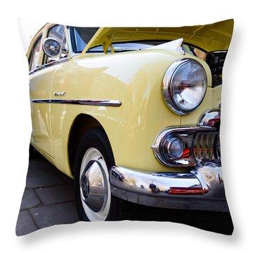 Vauxhall Velox Throw Pillow