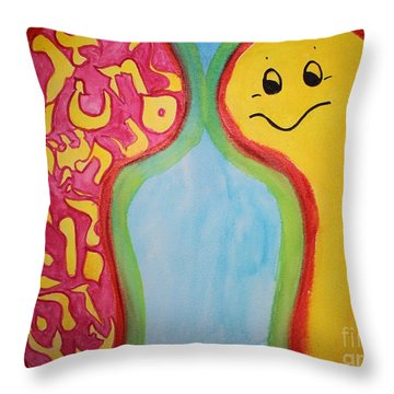 Vav Vision Ab18 Throw Pillow