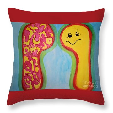Vav Vision Throw Pillow