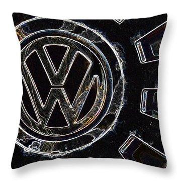 VW3 Throw Pillow