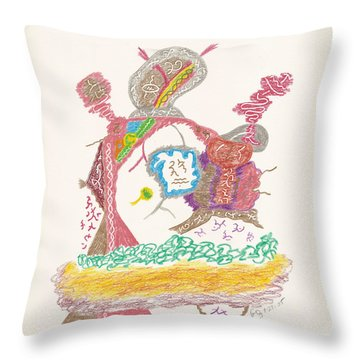Vedauwoo Shaman Throw Pillow