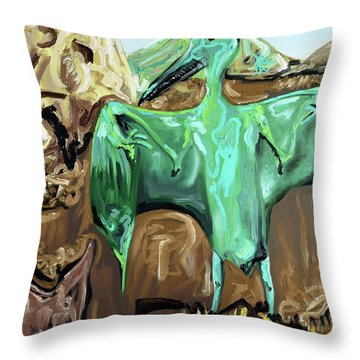 Vega Throw Pillow by Ryan Demaree