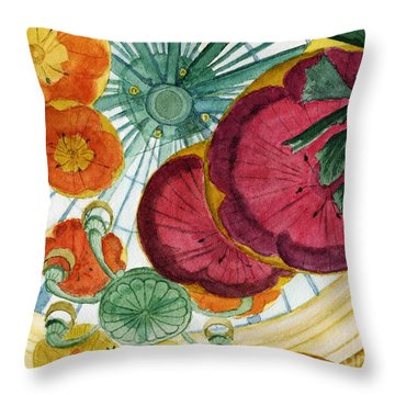 Vegas Baby Throw Pillow by Lynne Reichhart