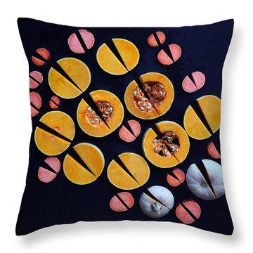 Vegetable Patterns Throw Pillow