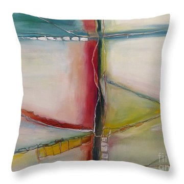 Vegetable Sides Throw Pillow by Gallery Messina