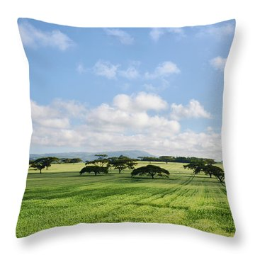 Vegetation Throw Pillow