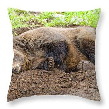 Veggin Out Throw Pillow