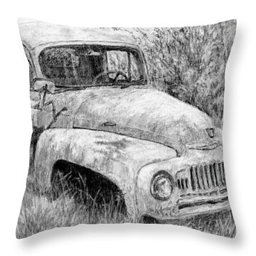 Vehicle Study No 1 Throw Pillow