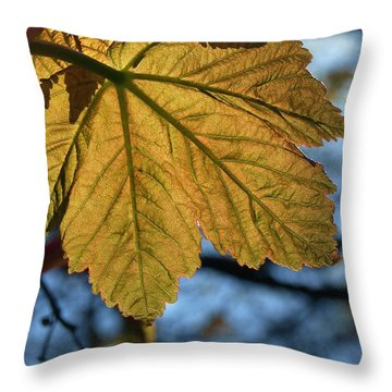 Veinage Throw Pillow