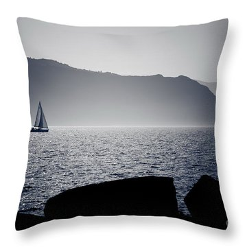 Vela Throw Pillow by Bruno Spagnolo