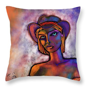 Velvet Squeeze Throw Pillow