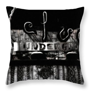 Velvet Underground Throw Pillow