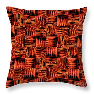 Velvety Throw Pillow