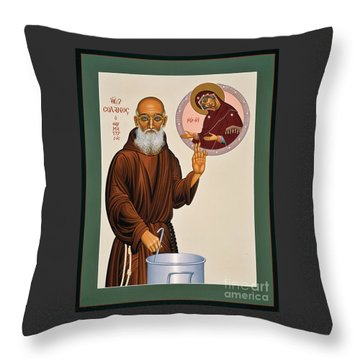 Venerable Fr. Solanus Casey The Healer 038 Throw Pillow