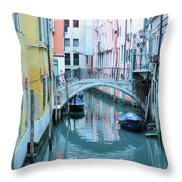 Venetian Charm Throw Pillow