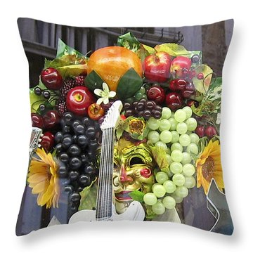 Venetian Dreams Throw Pillow