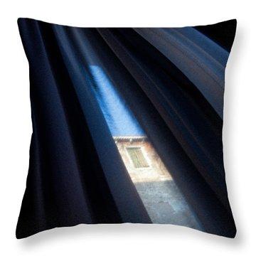 Venetian Square Throw Pillow by Dave Bowman