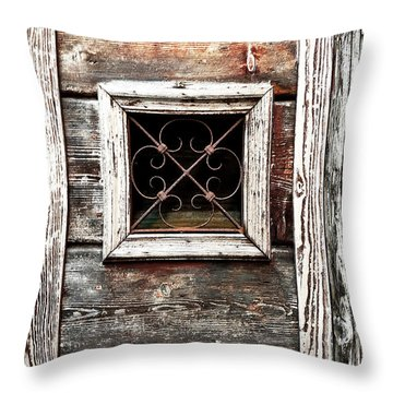Venetian Window Throw Pillow