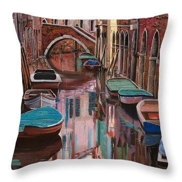 Venezia A Colori Throw Pillow