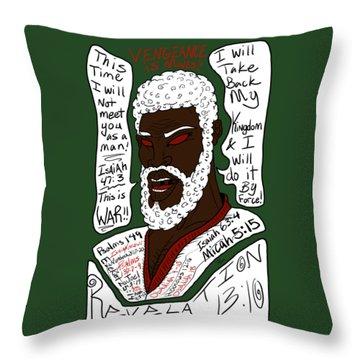 Vengeance  Throw Pillow