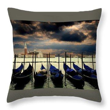 Venice-3r3 Throw Pillow by Alex Ursache
