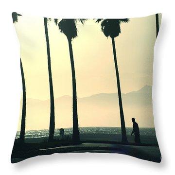 Venice Beach California Throw Pillow