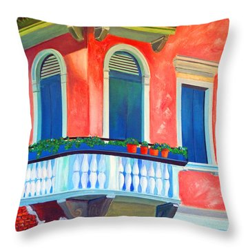 Venice Charm Throw Pillow