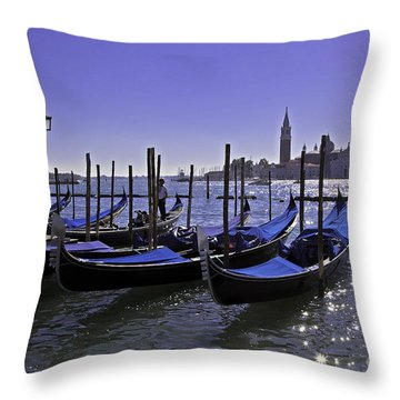 Venice Is A Magical Place Throw Pillow