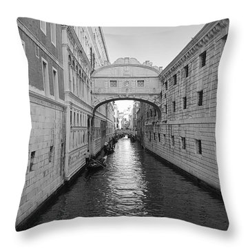 Venice Throw Pillow by Jonathan Kerckhaert