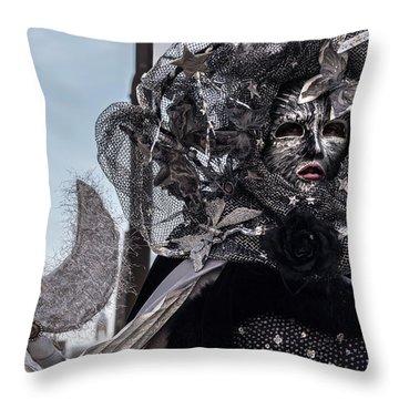 Venice Mask 19 2017 Throw Pillow
