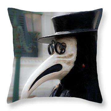 Venice Mask 23 2017 Throw Pillow